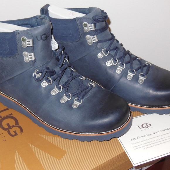 5ac0b294063 Ugg Men's Capulin Waterproof Leather Boots
